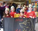 Wampus Third-Graders Welcome Lunar New Year with Colorful, Celebratory Parade