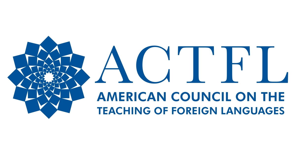 Logo of the American Council on the Teaching of Foreign Languages