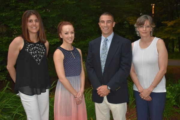 Four Byram Hills Teachers Honored with Teacher Recognition Award