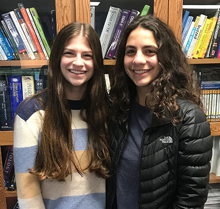 Two Byram Hills High School Students Named as Finalists for Neuroscience Research Award
