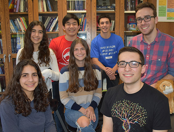 Seven Byram Hills High School Seniors Named Scholars in Regeneron Science Talent Search