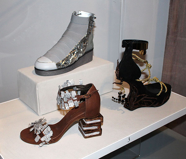 Two BHHS Students Win Footwear Design Contest, Their Designs Are Produced by Stuart Weitzman; Third Student is a Finalist