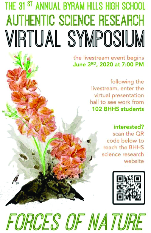 Byram Hills First Virtual Science Symposium